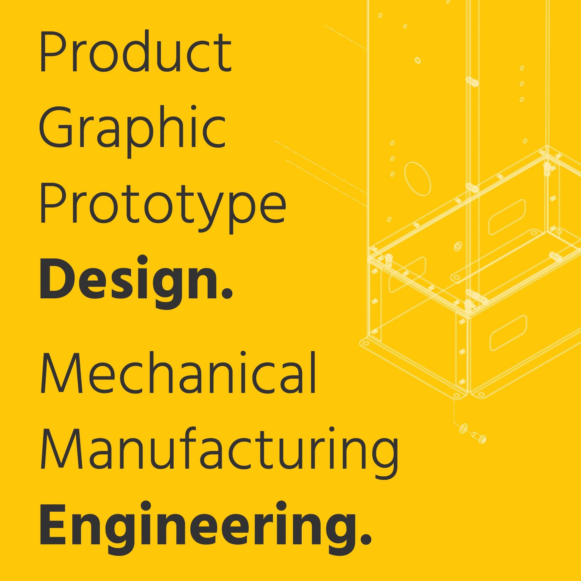 AC CAD Design & Engineering Poster SQ